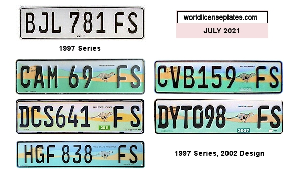 Free State License Plates