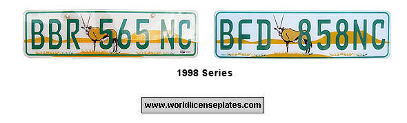 Northern Cape License Plates