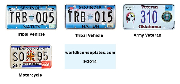 License Plates of the Seminole Nation