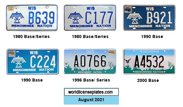 License Plates of the Menominee Nation