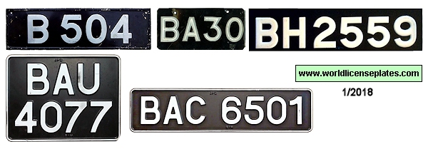 Brunei License Plates