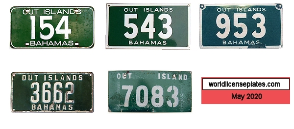1950's - 1970's, Nassau & Out Islands