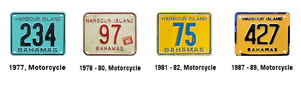 Harbor Island License Plates