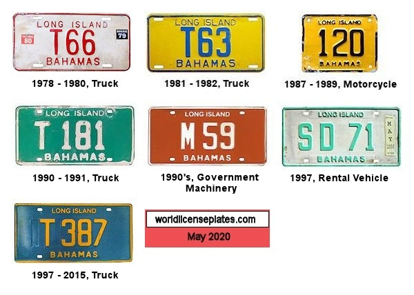 Long Island License Plates
