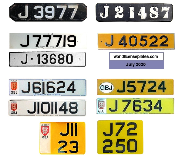 Jersey License Plates