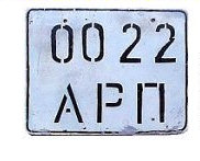 Russia in Svalbard License Plates