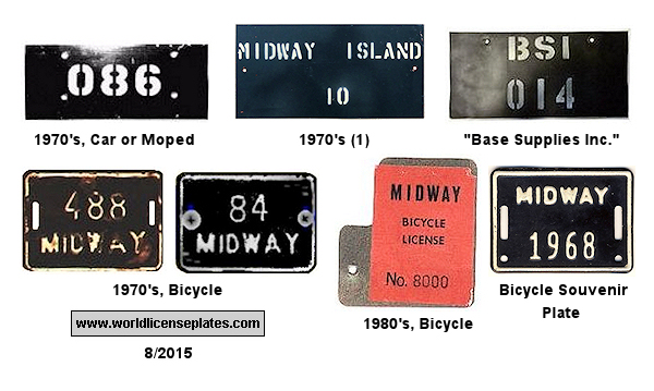Midway License Plates