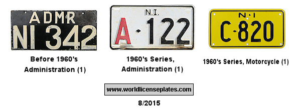 Norfolk Islands License Plates