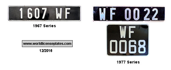 Wallis and Futuna License Plates