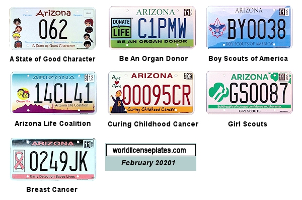 Special Interest License Plates