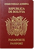 Bolivian Passport